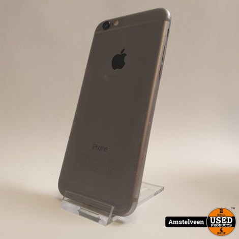 iPhone 6 16GB Space Gray | incl. Garantie & Lader