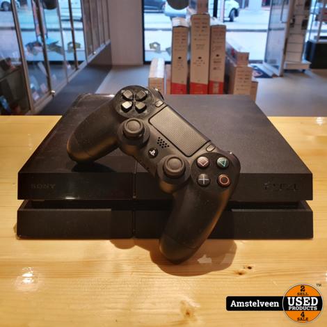Playstation 4 500GB Zwart/Black   Nette Staat