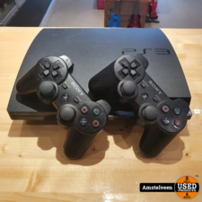 Playstation 3 Slim 120GB Zwart/Black | incl. 2 Controllers