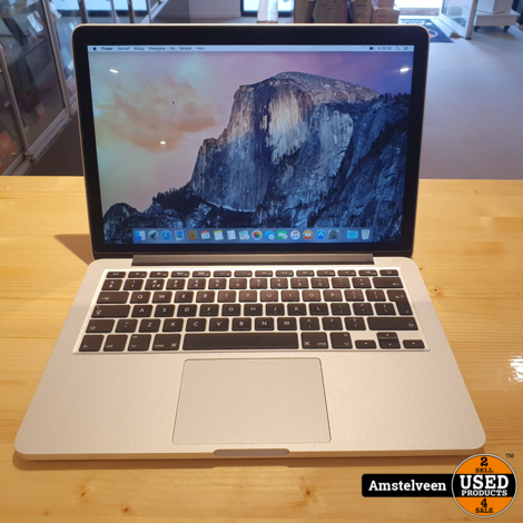 Macbook Pro 13-inch 2013   8GB i5 256GB SSD   Nette Staat