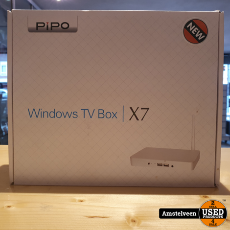 PIPO X7 Windows 10 Mini PC TV Box Mediaspeler 2G RAM 32G ROM Intel Z3736F 2.16GHz | Nieuw