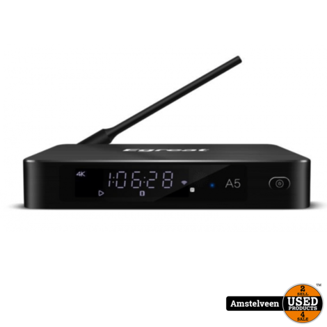 Egreat A5 Hi3798CV200 4K HDR Blu-ray Mediaspeler Dolby DTS-HD 3.5 & quot; SATA HDD 2GB / 8GB | Nieuw