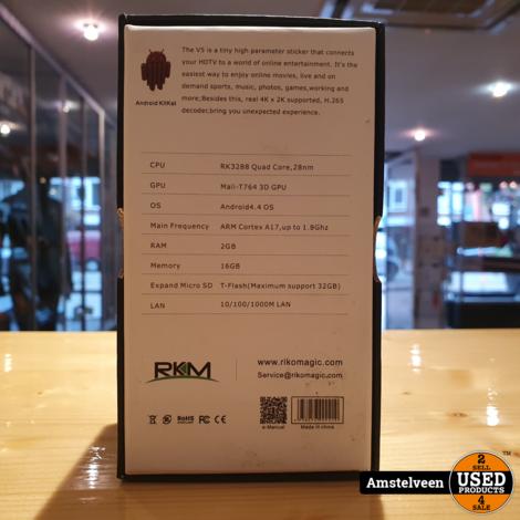 Epsilon Rikomagic V5 - Mini-PC | HDMI | 4.4 Android 2GB/16GB | Nieuw