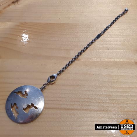 Hermes Rabbit Silver Key Holder Vintage | Nette Staat