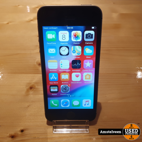 iPhone SE 32GB Space Gray #4 | Nette Staat