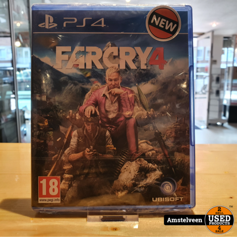 Playstation 4 Game: Farcry 4 | Nieuw