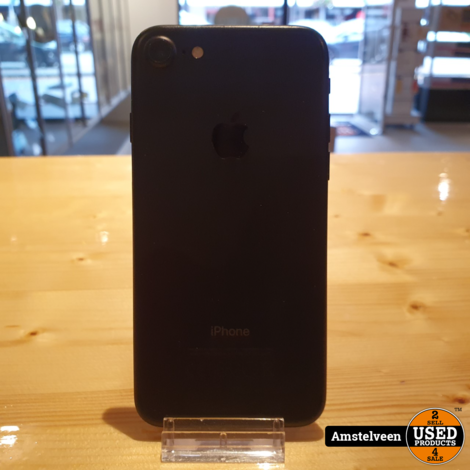 iPhone 7 32GB Zwart/Black   incl. Lader
