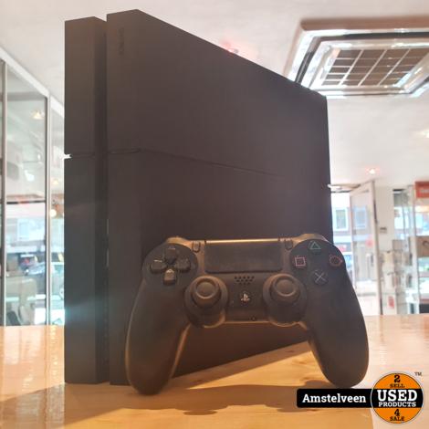 Playstation 4 500GB Zwart/Black   incl. Controller & Kabels