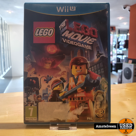 Wii U Game: The LEGO Movie Videogame