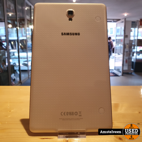 Samsung Galaxy Tab S 8,4-inch 16GB WiFi Wit/White   Nette Staat