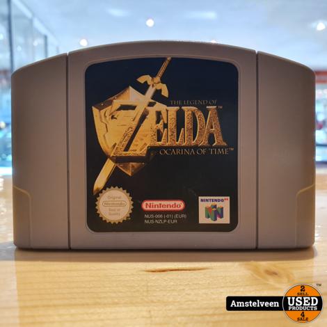 Nintendo 64 The Legend of Zelda Ocarina of Time (losse cassette)