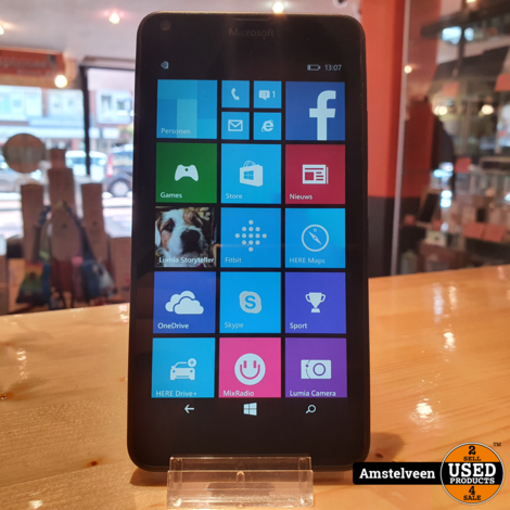 Microsoft Lumia 640 LTE 16GB Zwart/Black | Nette Staat