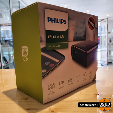 Philips PPX320/INT Mini Beamer Zwart/Black | Nieuw