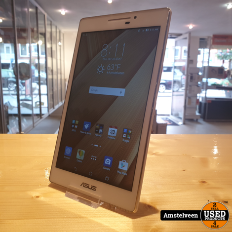 Asus Zenpad 7-inch 16GB White/Wit | Nette Staat