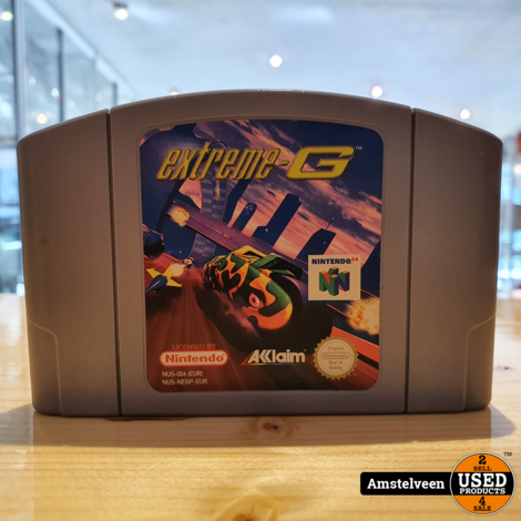 Nintendo 64 Game: Extreme G (losse cassette)