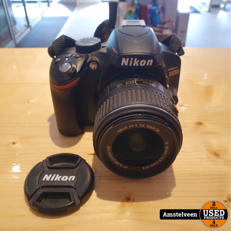 Nikon D3200 BODY Black + AF-S 18-55MM F/3.5-5.6G DX VR II   Nette Staat