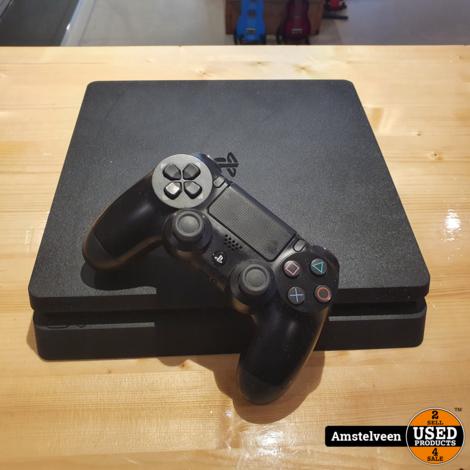 Playstation 4 Slim 500GB Black/Zwart | Nette Staat