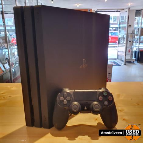 Playstation 4 Pro 1TB Black/Zwart | Nette Staat