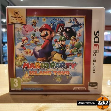 3DS Game: Mario Party - Island Tour - Nintendo Selects