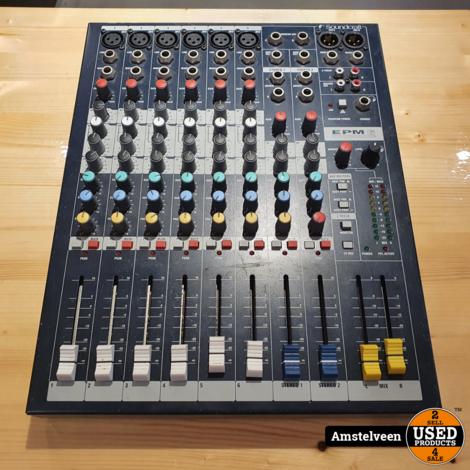 Soundcraft EPM 6 (6 Kanalen) Analoog Mixer   incl. Garantie