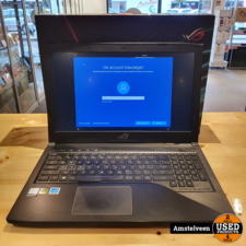 asus Asus ROG Strix GL503VD-FY127T 15.6 Gaming Laptop   8GB i7 1.128TB   Nette Staat in Doos