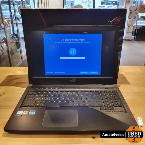 Asus ROG Strix GL503VD-FY127T 15.6 Gaming Laptop   8GB i7 1.128TB   Nette Staat in Doos