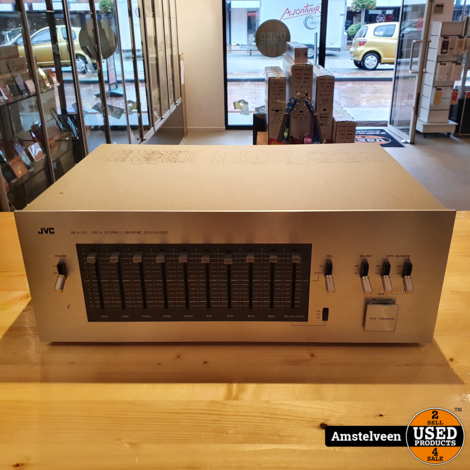 JVC SEA-50 S.E.A. Stereo Equalizer Silver | Nette Staat