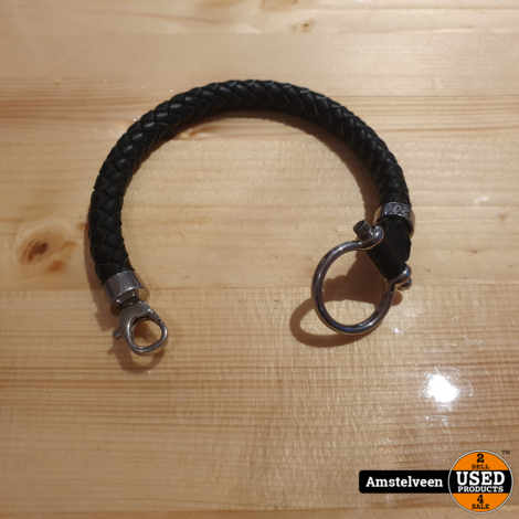 Omega Leather Bracelet | Nette Staat