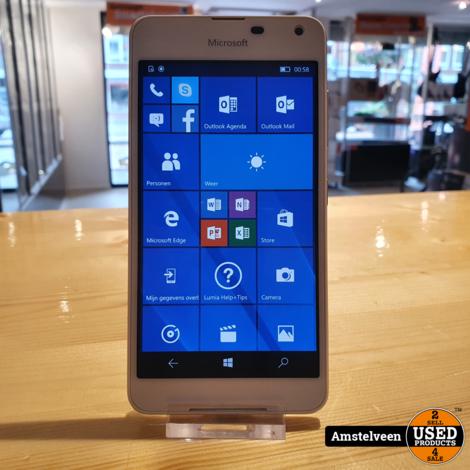 Nokia Lumia 650 16GB White/Wit | Nette Staat