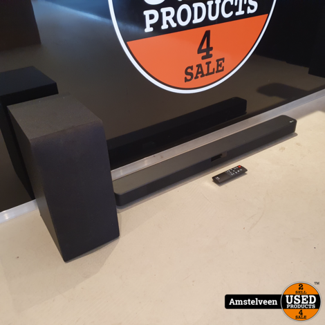 LG SL4Y Soundbar 300W Zwart/Black | Nette Staat