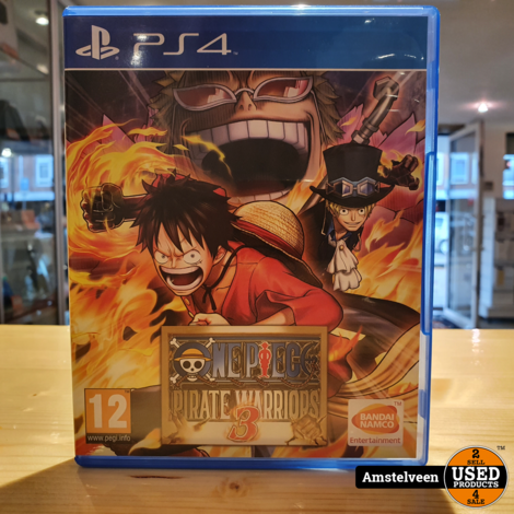 PS4 Game: One Piece - Pirate Warriors 3