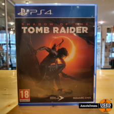 PS4 Game: Shadow of the Tomb Raider