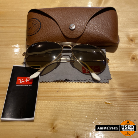Ray-Ban Zonnebril Vintage | in Koker