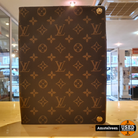 Louis Vuitton Mono Brown iPad Case 2011 Vintage | Nette Staat