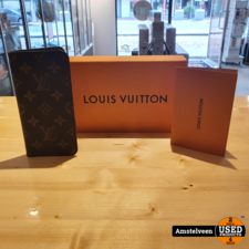Louis Vuitton iPhone 7+/8+ Folio M63400 Mono Brown | incl. Factuur