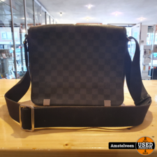 Louis Vuitton District PM Damier Graphite Canvas Messenger Bag 2011