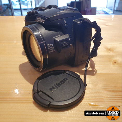 Nikon Coolpix L120 21X 14,1mp Zwart/Black | Nette Staat