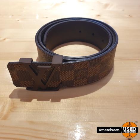 Louis Vuitton Belt M9807 85/34 Brown Damier 2011 | excl. Doos