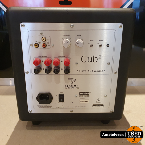 Focal Sib & Cub2 5.1 Design Home Cinema System Black | incl. Garantie