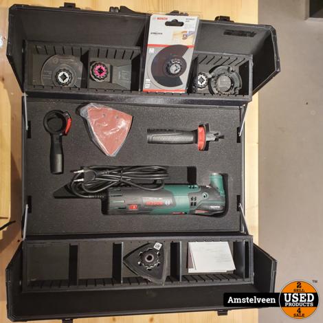 Bosch PMF 250 CES 250W Multitool   incl. Bosch Koffer   ZGAN