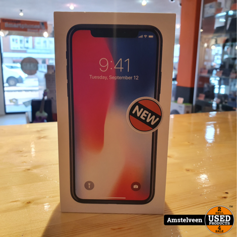iPhone X 256GB Space Gray   Nieuw