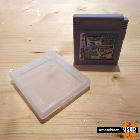 Nintendo Gameboy Game: Pokemon Gold & Silver 2 in 1 USA