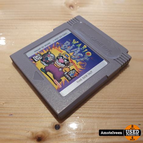 Nintendo Gameboy Game: Wario Blast