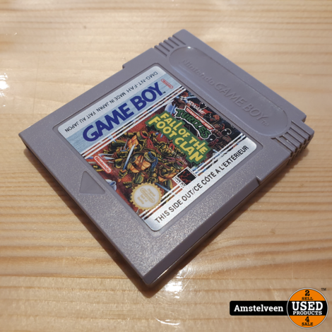 Nintendo Gameboy Game: Fall of the foot clan