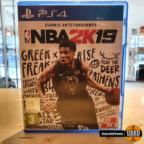 PS4 Game: NBA 2K19