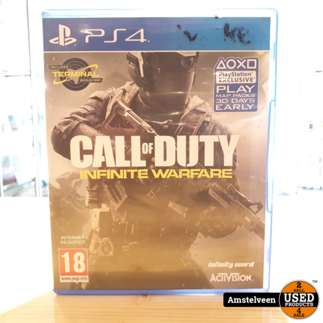 PS4 Game: Call of Duty - Infinite Warfare
