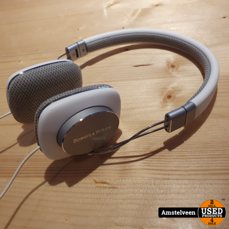 Bowers & Wilkins P3 Headset White | Nette Staat