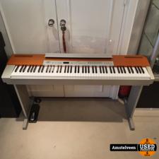Yamaha YAMAHA P-120 Piano Silver + Statief & Pedaal   Nette Staat