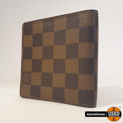 Louis Vuitton Slender Wallet Brown Ebene Damier 2011