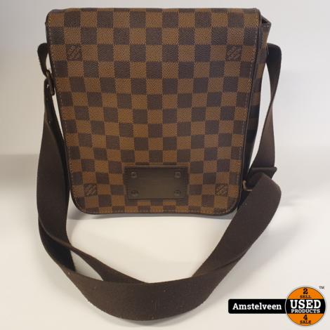 Louis Vuitton Brown Damier Ebene PM Brooklyn Messenger Bag 2011